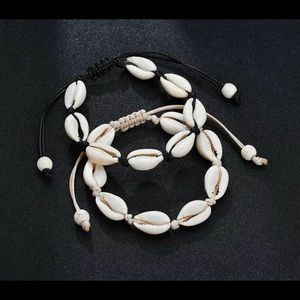 Jewelry - Natural Cowrie Sea Shell Beads Anklet Bracelet Cha